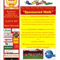 Sponsored Walk - If you can't do it, then you can still help the club