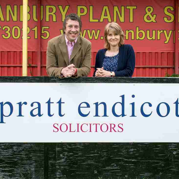 Spratt Endicott Solicitors continue to support the club