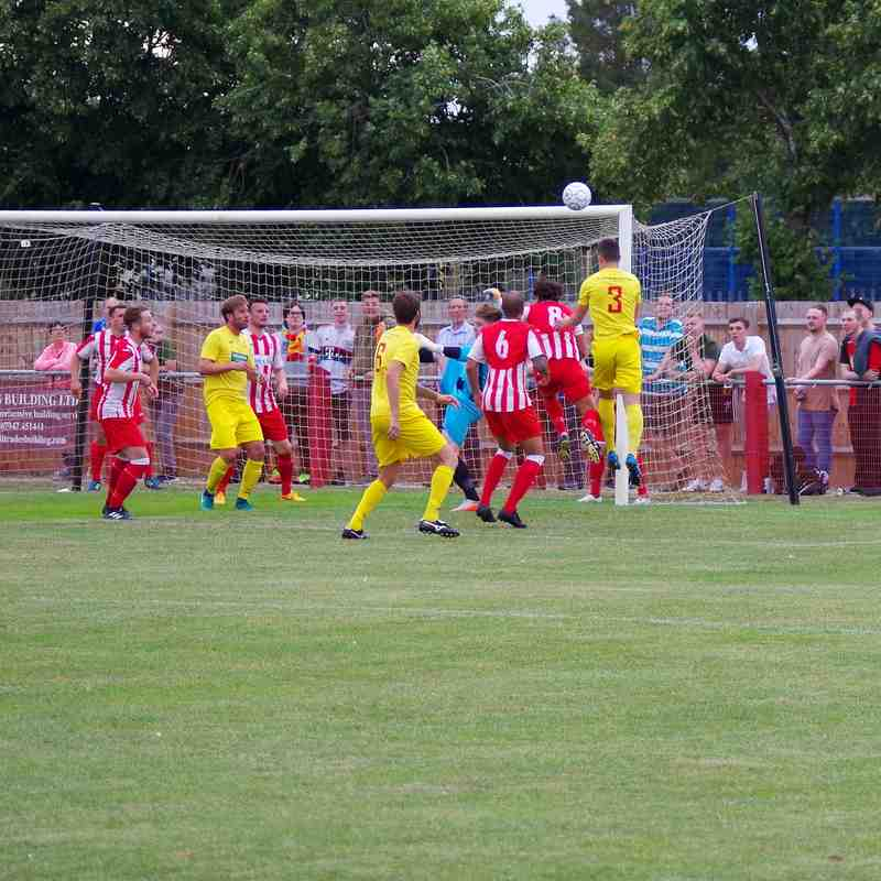 Easington Sports v Banbury United 18th July 2017