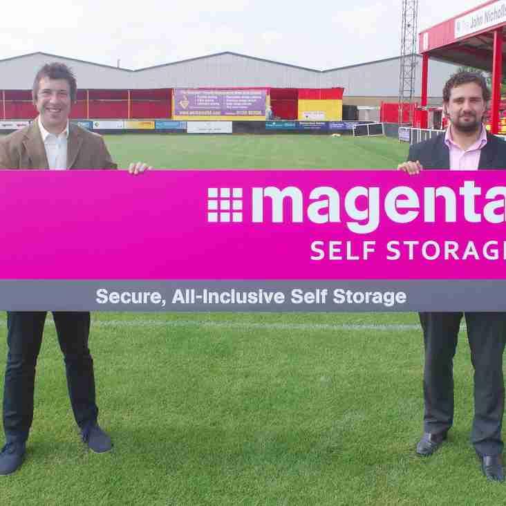 Magenta Self Storage Support the Club