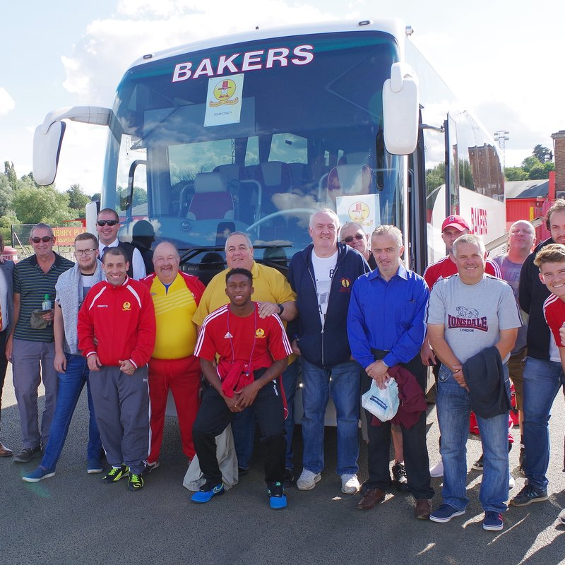 Coaches to Frome and Tiverton