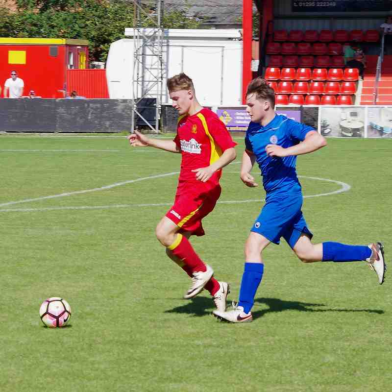 Photos - U18s 3 Chesterton 0 - Friendly 27 Aug