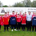 Magna in Action provide support to Banbury United's Under 18 team