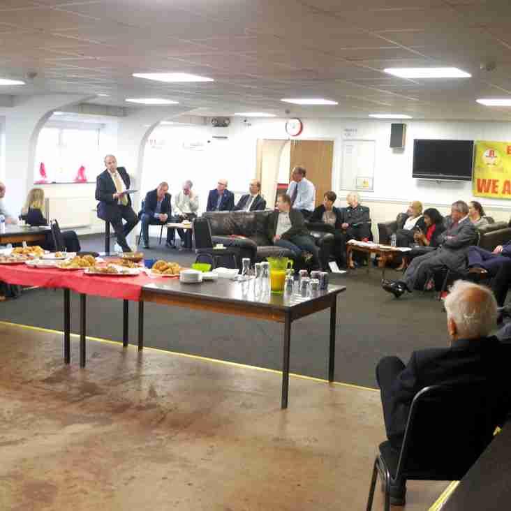 Banbury United host Chamber of Commerce