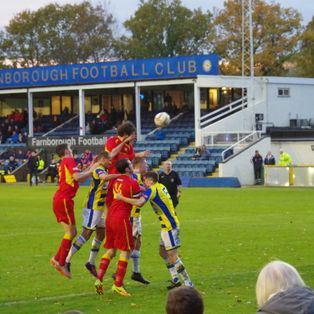Farnborough 3 Banbury United 3
