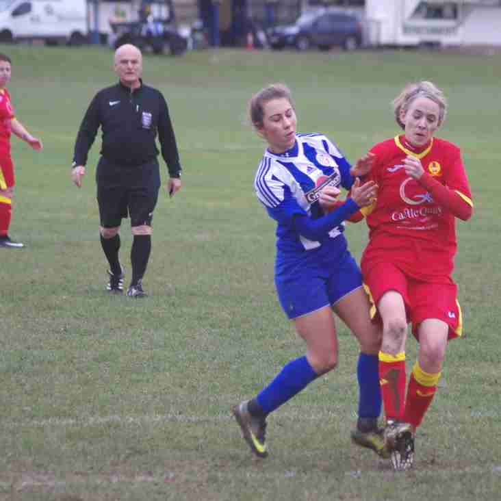 Thatcham Flames 0 Banbury United Women 2