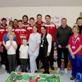 United players visit the Children's Ward at Horton Hospital