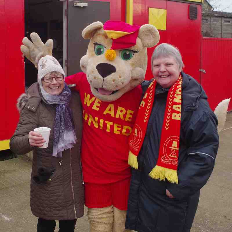 Rory the Lion at Dunstable Game