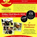 """An Evening with Ron Atkinson"" - This Friday - Just a few tickets left"