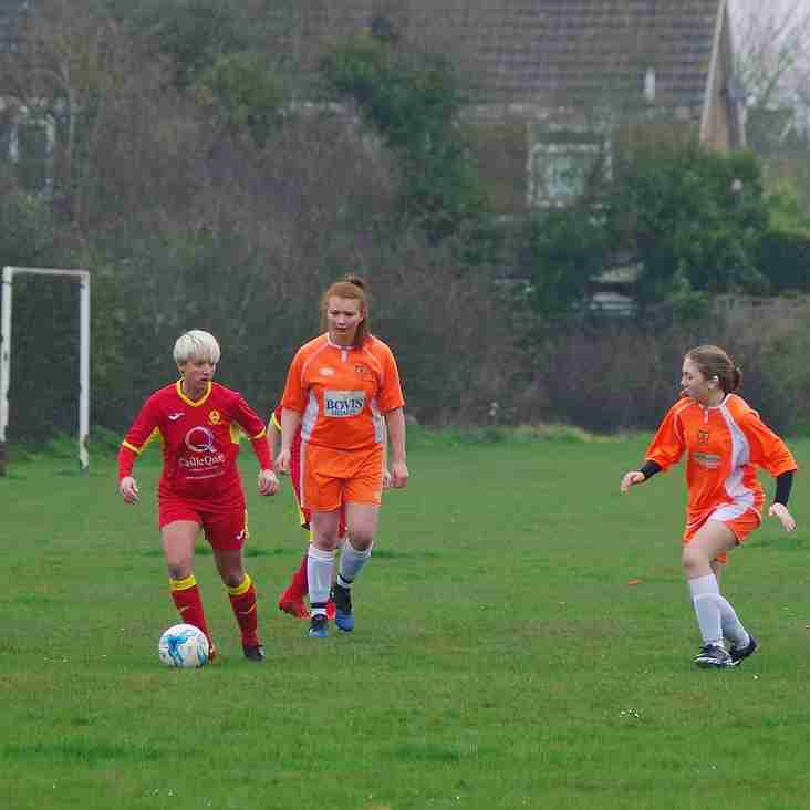 Milton Keynes City Ladies Reserves 0 Banbury United Women 8