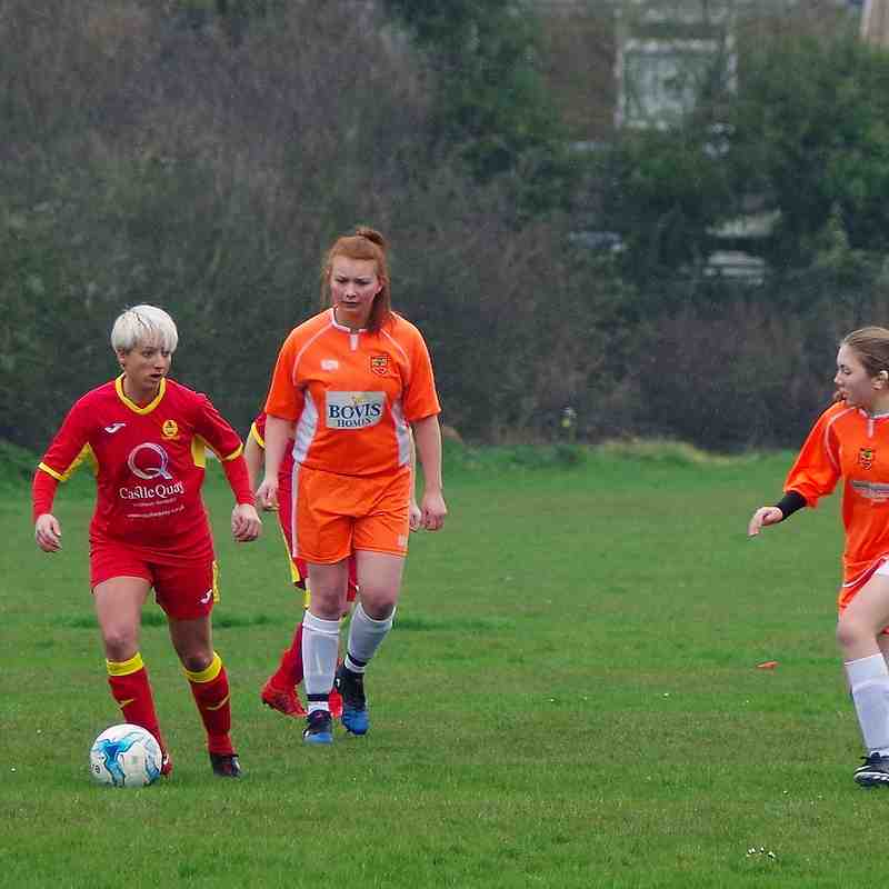 Milton Keynes City v Banbury United Women - 8 April 2017