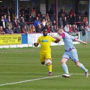 Weymouth 1 Banbury United 1