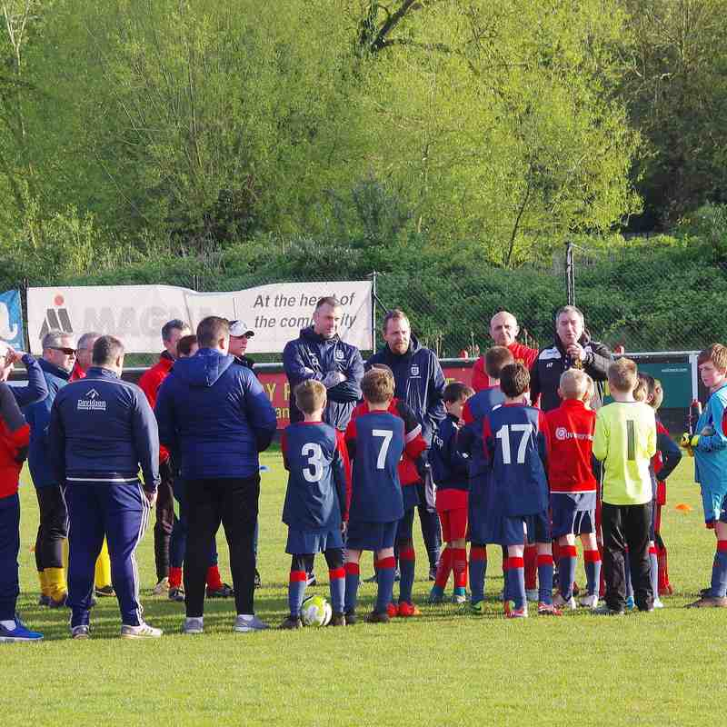 Photos - Mike Ford Youth & Juniors Coaching Session May 2018