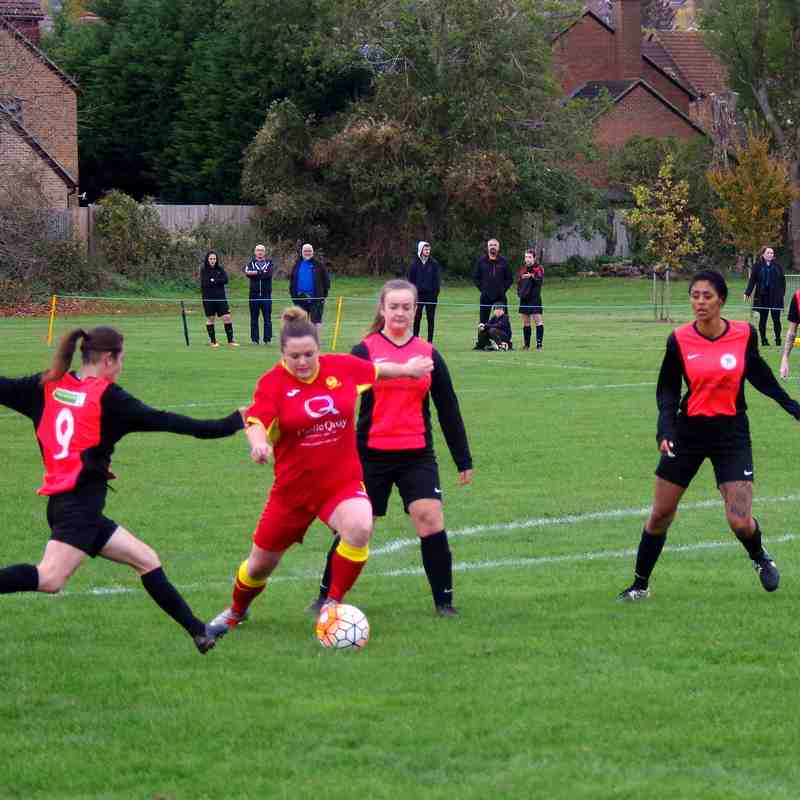 Tilehurst Panthers v Banbury United Women