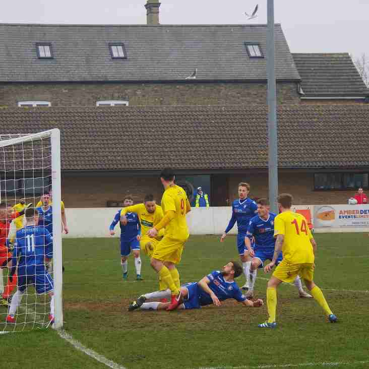 Match report - Lowestoft Town 1 Banbury United 0