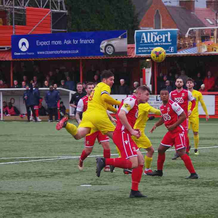 Match report – Tamworth 4 Banbury Utd 0