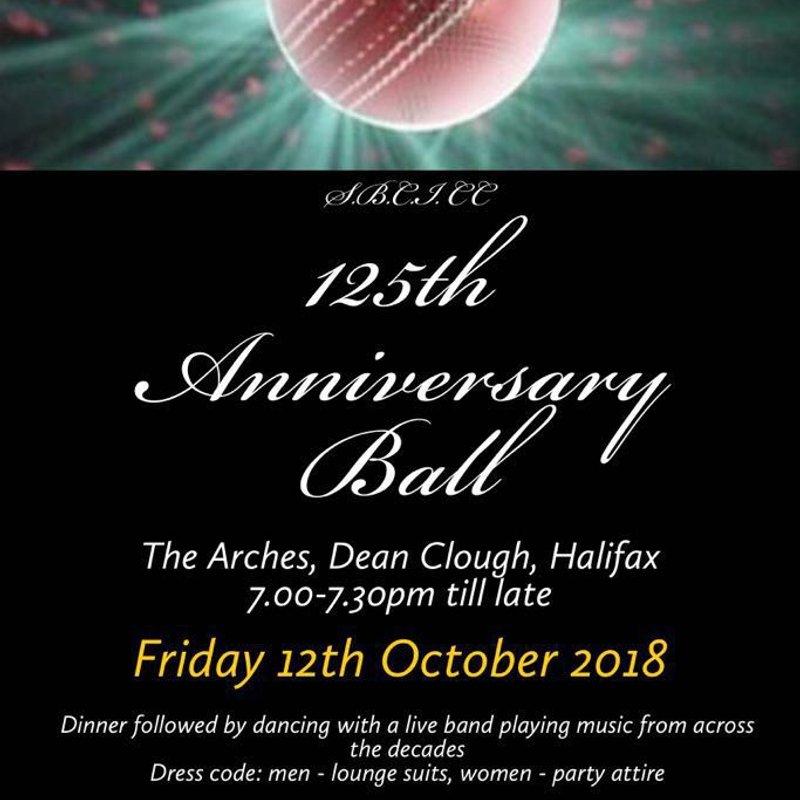 125th Anniversary Ball - UPDATE