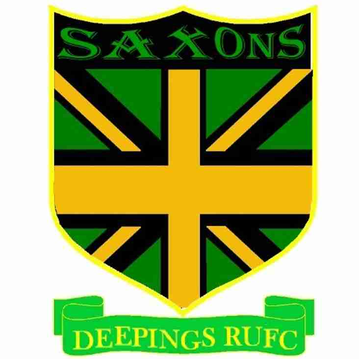 Saxons Match Cancelled