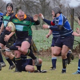 Green Machine v Rugby St Andrews