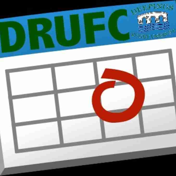 Your weekend starts early at DRUFC