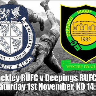 Brackley RUFC v Deepings RUFC IXV