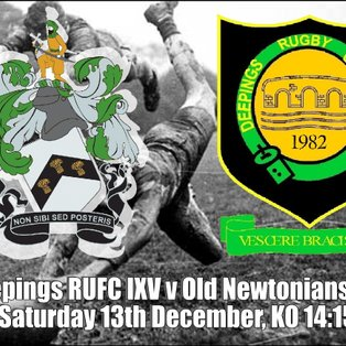 Deepings RUFC IXV v Old Newtonians RFC
