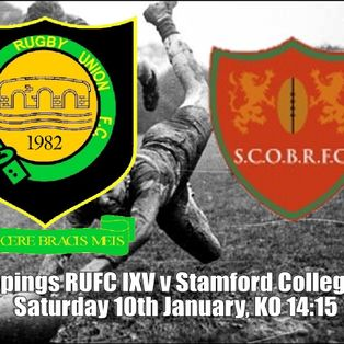 Deepings RUFC IXV v Stamford College Old Boys