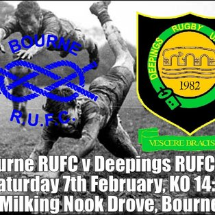 Bourne RUFC  v Deepings IXV