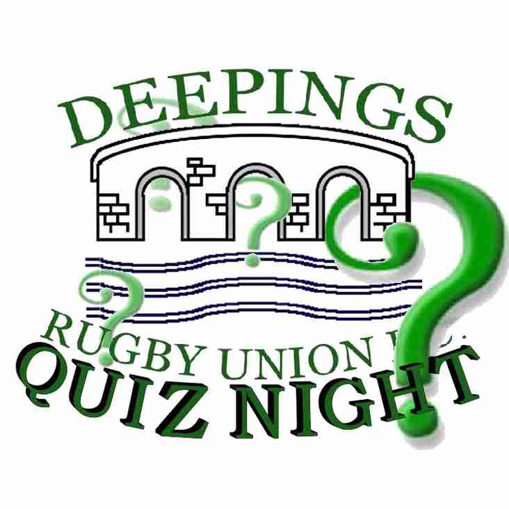 The return of our DRUFC QUIZ NIGHT - 8pm Tonight.......