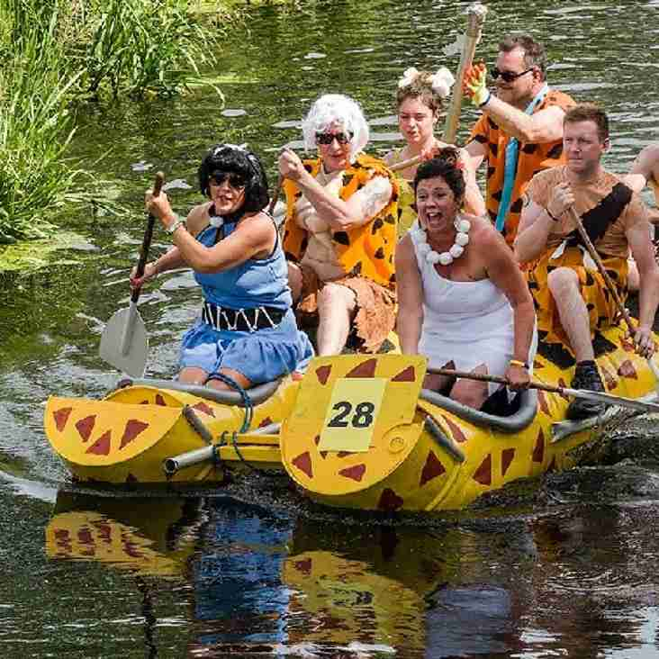 "To our fantastic members. We have once again been asked to help at this years Raft Race. Continuing from Beer Fest - ""Many hands make light work"""