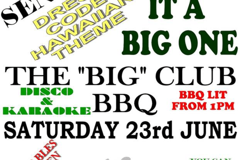 CLUB BBQ AND FAMILY DAY !