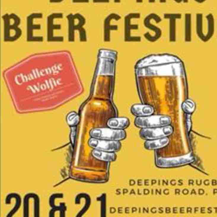 NOT LONG NOW TO BEERFEST !