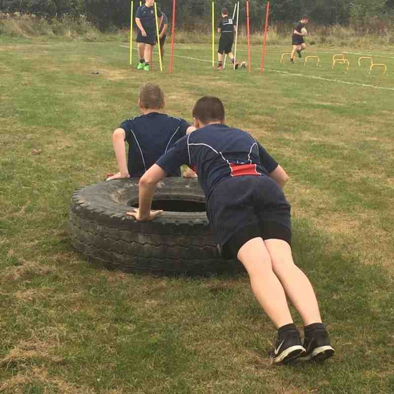 Crawley RFC U15s Summer training August 2016