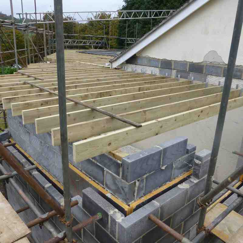 """The Progress of clubhouse extension as from the """"Rugby First"""" day June 2013 (Part 1)"""