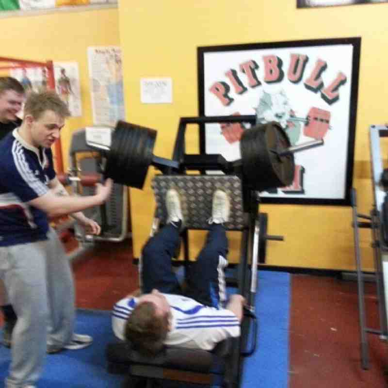 360 KG club record well done Jeffery