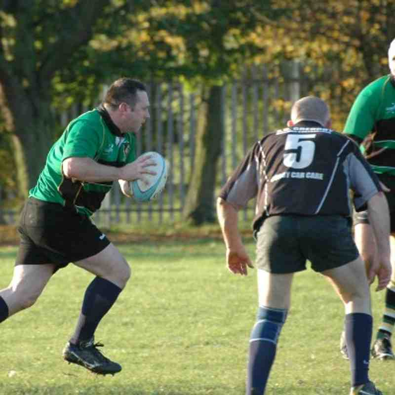 Deepings Dinosaurs 38 Market Harborough Vets 13
