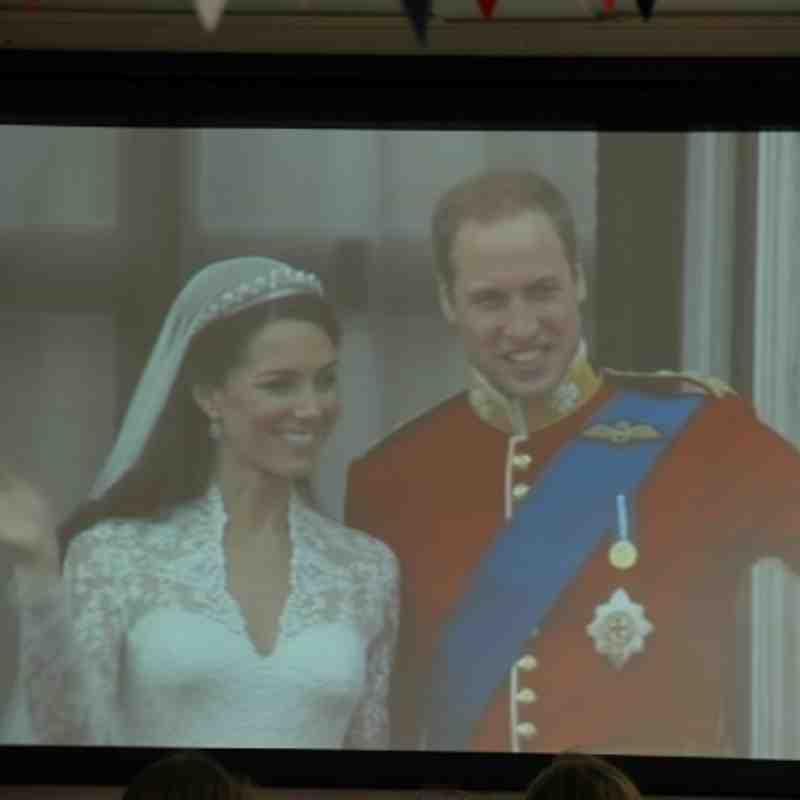 Royal Wedding Party.