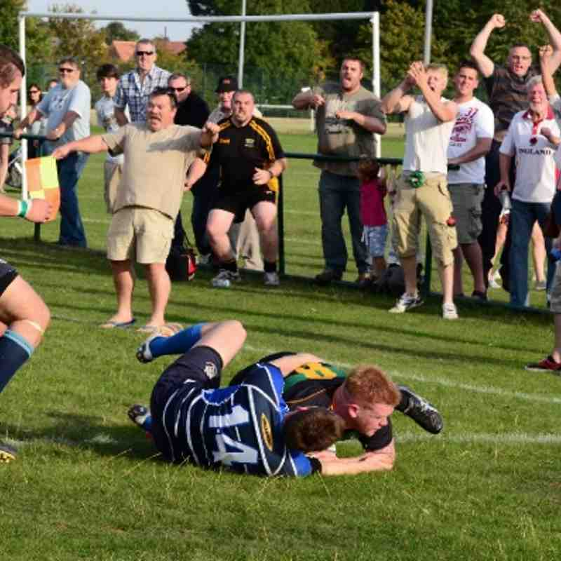 Deepings RUFC 33 v Rugby St Andrew RUFC 32, 1st October 2011.