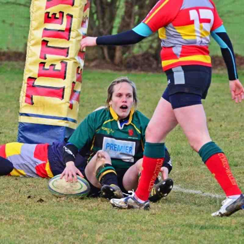 Deepings Devils 24 v Peterborough Ladies 5. 22nd January 2012.
