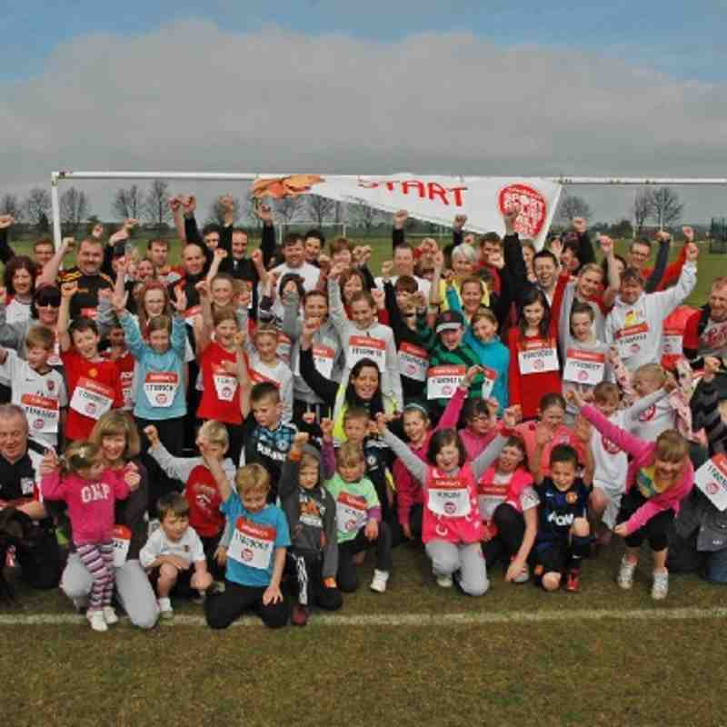 Sport Relief, 25th March 2012.