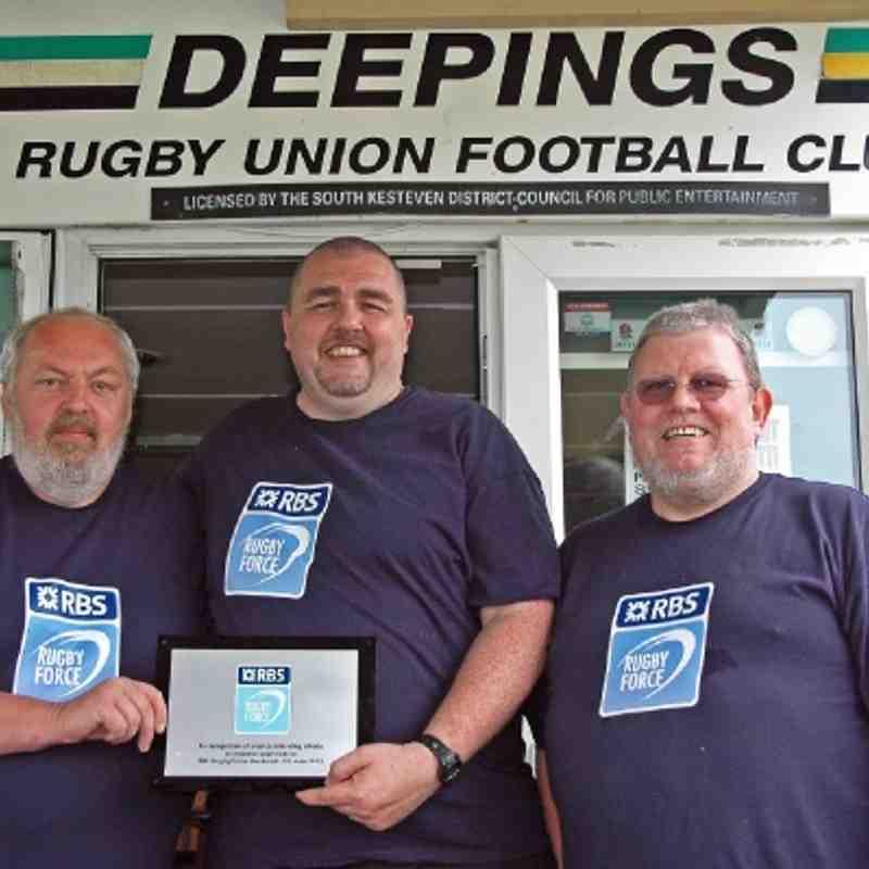 RBS Rugby Force weekend. 2/3 June 2012.