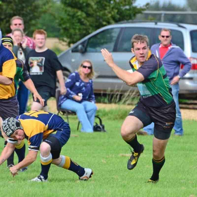 Friendly: Thorney 5 v Deepings 60. 1st September 2012.