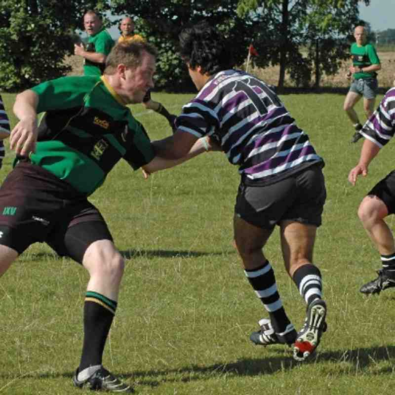 Saxons 22 v Stamford 2s 24 - by Amy Tinn, Saturday 8th September 2012..