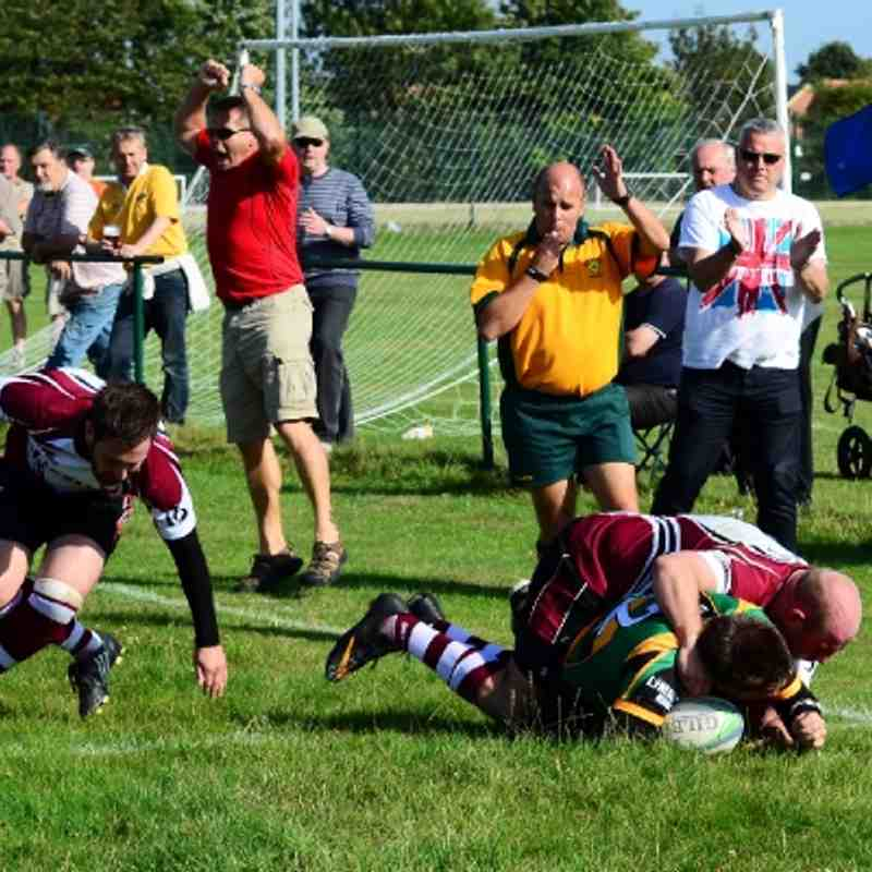 Deepings RUFC 22 v Bedford Queens RUFC 23. Saturday 15th September 2012.