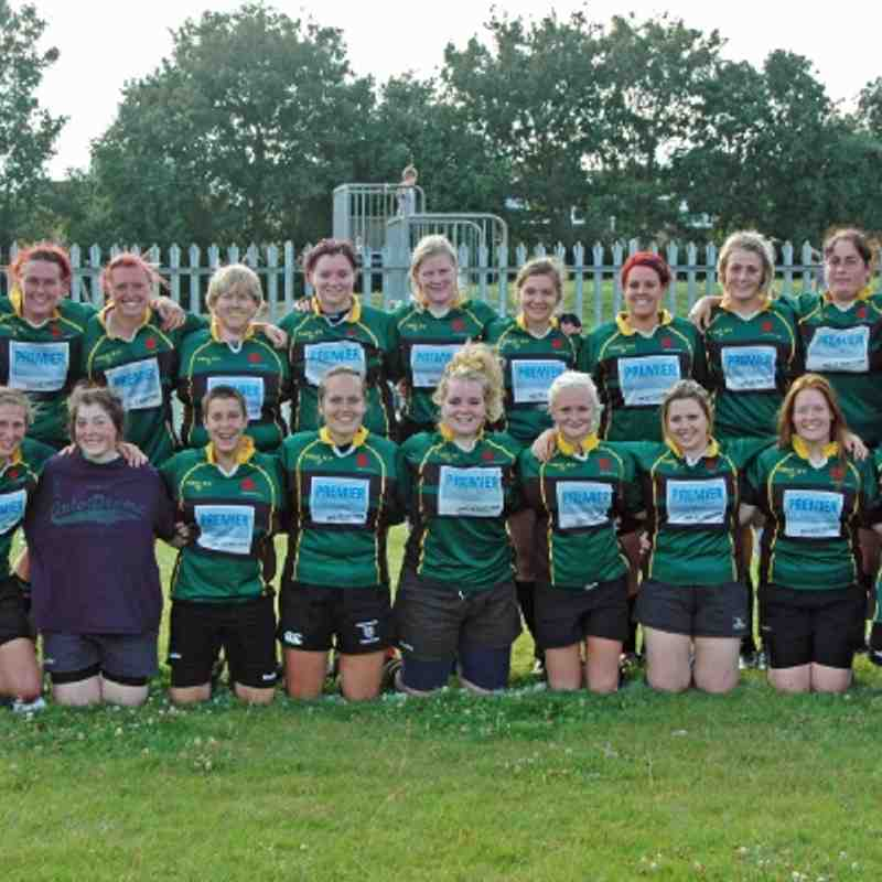 Deepings Devils 34 v Hitchin Ladies 0. Sunday 16th September 2012.