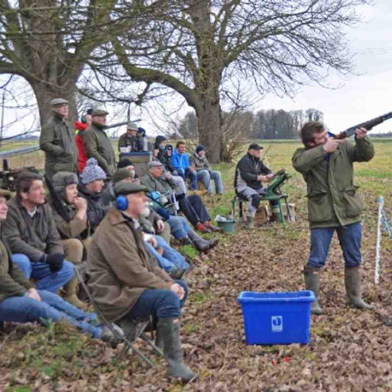 The Great Christmas Clay Pigeon Hunt