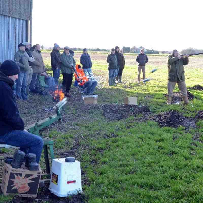 Christmas Clay Pigeon Shoot