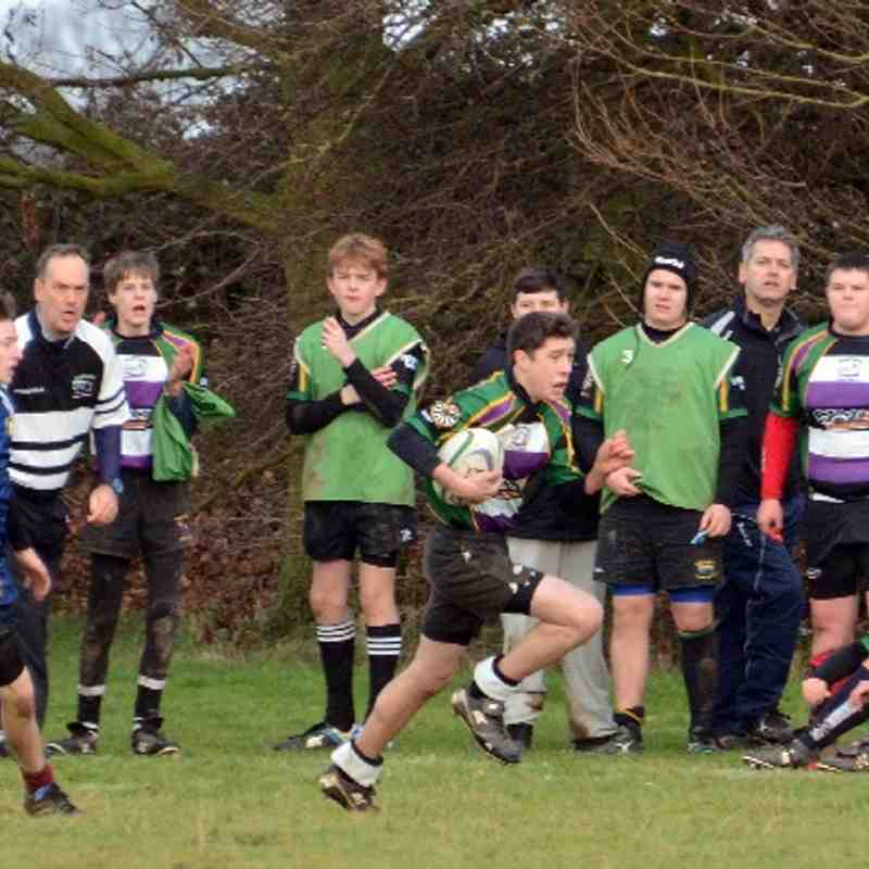 Deepings & Stamford U15 v Peterborough Lions U15.