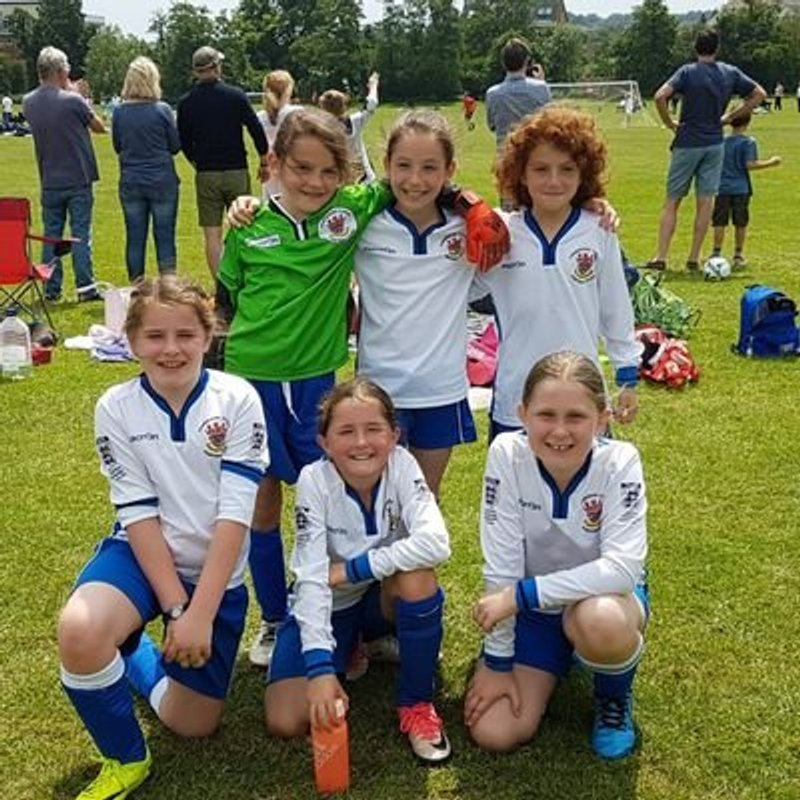 Girls open training session - Saturday 7 July