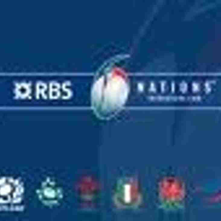 6 Nations Games this Weekend